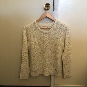 Hollister Speckle Knit Sweater